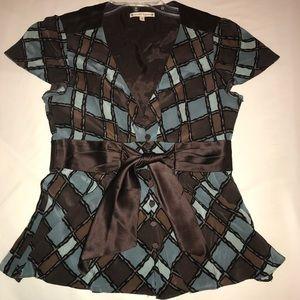 Nanette Lepore button up blouse, Size 8